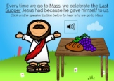 Jesus Gives Us The Eucharist Boom Cards