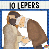 Jesus  Heals 10 Lepers {New Testament Interactive Bible Storytelling Printables}