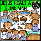 Jesus Heals A Blind Man Clip Art Set {Educlips Clipart}