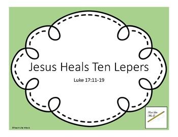 Jesus Heals Ten Lepers Crossword | Sermons4Kids | 270x350