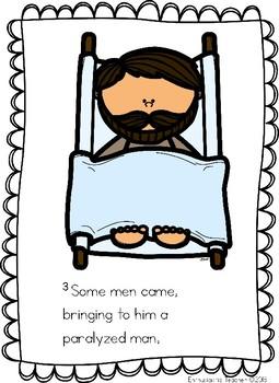 Jesus Heals the Paralyzed Man