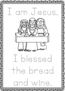 Jesus ~ I am Jesus posters, worksheets and interactive pages