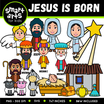 Jesus Is Born Clip Art