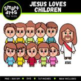 Jesus Loves Children Clip Art