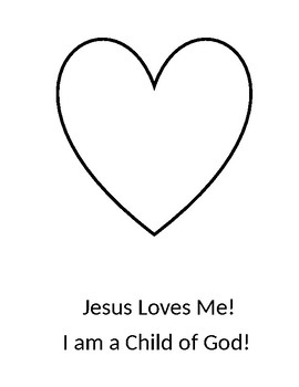 Jesus Loves Me Bible Craft