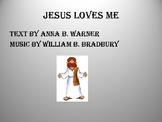 Jesus Loves Me Rhythm Visual Chart