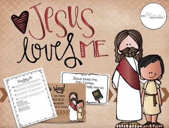 Jesus Loves Me {Songs and Resources for Sunday School}