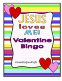 Jesus Loves Me Valentine Bingo Cards