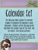 Jesus Loves Me themed Calendar Set