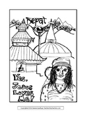 Jesus Loves Nepal Coloring Page