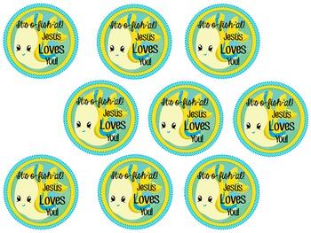 Jesus Loves You: It's O-fish-al!