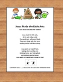 Jesus Made the Little Ants poster