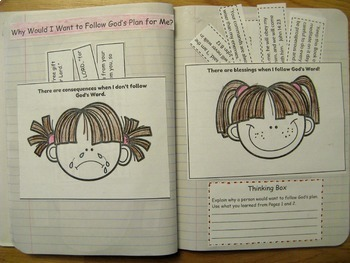 Jesus' Parable: The Wise and Foolish Builders: Interactive Notebook