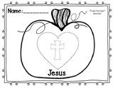 Jesus Pumpkin Coloring