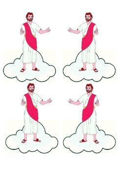 Jesus Returns to Heaven Project Freebie
