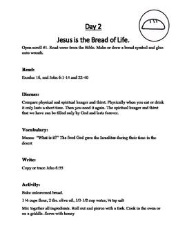 "Jesus Said ""I AM""  A Christmas Scripture Study for Families"