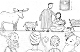 Jesus Storybook Bible coloring page Advent