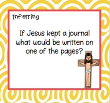 Jesus ~ 42 Task Cards and More! Religion