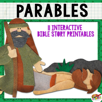 Jesus Tells a Parable {New Testament Interactive Bible Storytelling Printables}