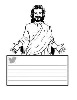 Jesus Tweets AND God Has An APP For That Activity Packet