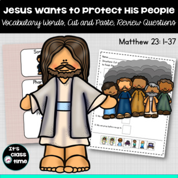 Jesus Wants to Protect His People
