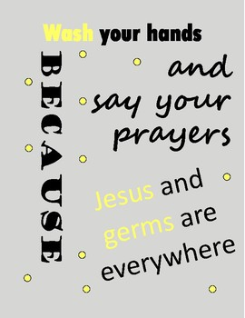 Jesus and Germs are Everywhere