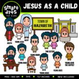 Jesus as a Child Clip Art