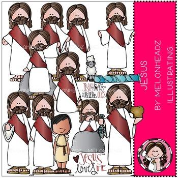 Melonheadz: Jesus clip art