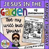 Jesus in the Garden of Gethsemane (Worksheets)