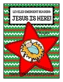 Jesus is Here Emergent Readers {3 Levels of Differentiation}