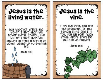 Names of Jesus Posters & Student Book