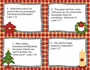 Jesus is the Reason for the Season Task Cards