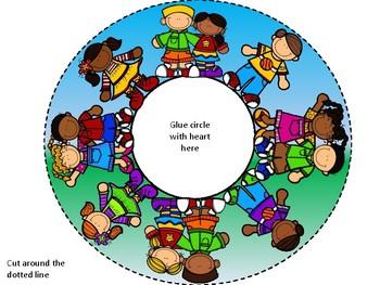 Jesus loves the children of the world craft