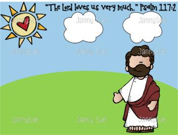 Jesus loves us very much craft