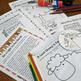 Jesus's Parables NO PREP Bible Lessons Coloring, Crafts, Religious, 4 Stories