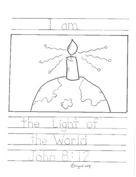 "Jesus says ""I Am..."" Booklet"
