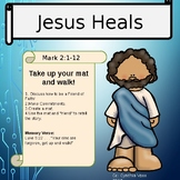 Bible Study for Kids - Jesus, the healer (The Hole in the Roof)