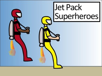 Jet Pack Superheroes