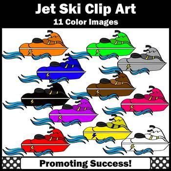 Jet Ski Clip Art, Summer Clip Art, Water Craft Clipart, Transportation Unit SPS