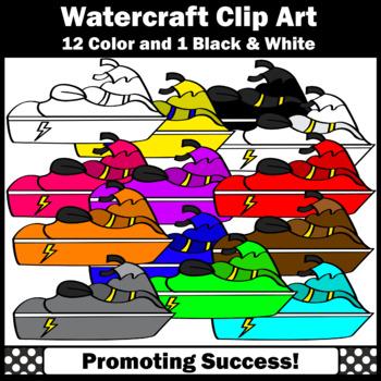 Jet Ski clipart, Beach Clip Art SPS