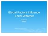 Jet Streams and El Nino Global Weather Patterns