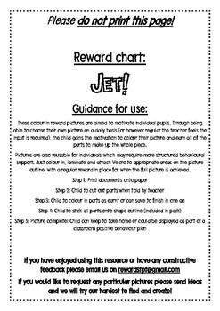 Jet reward chart