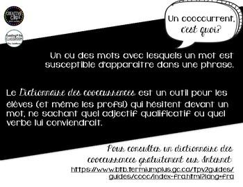 Jeu - Atelier - Scattergories des cooccurrences