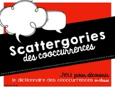 Jeu - Atelier - Scattergories des cooccurrences