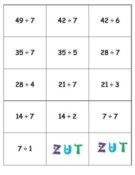 Jeu - Division ZUT