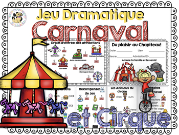 French Dramatic Play: Carnaval et Cirque
