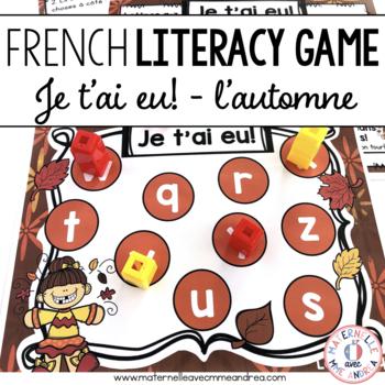 Jeu Je t'ai eu! Automne (FRENCH Fall-themed Gotcha! Game)