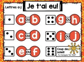 Jeu Je t'ai eu! Été (FRENCH Summer Gotcha! Game)