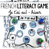 Jeu Je t'ai eu! Hiver (FRENCH Winter Gotcha! Game)