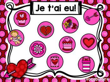 Jeu Je t'ai eu! La Saint-Valentin (FRENCH Winter Gotcha! Game)